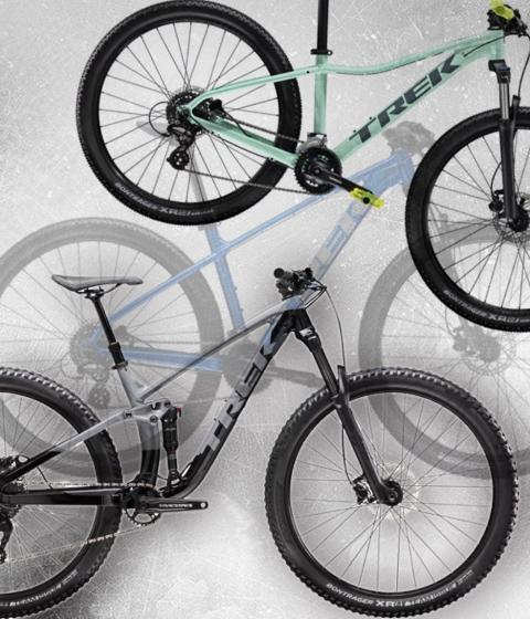 Kategorie Mountainbikes Trek