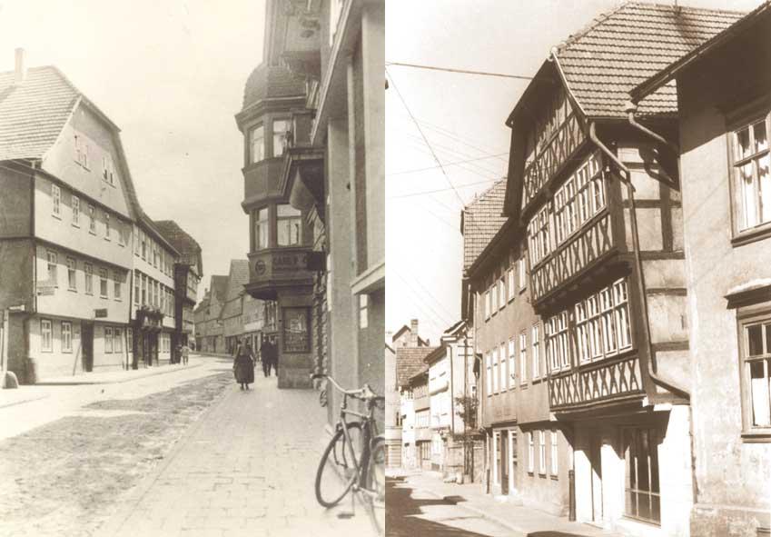 Aufnahmen: Stiller Gasse um 1935